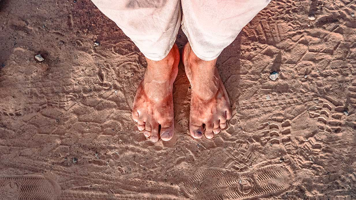 Getting Your Feet Dirty